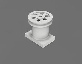 Polygraphic vacuum nozzle 3D print model