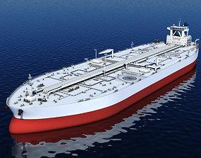 Oil Tanker 3D model