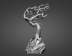 Tree - pedestal for characters 01 - 05 3D printable model