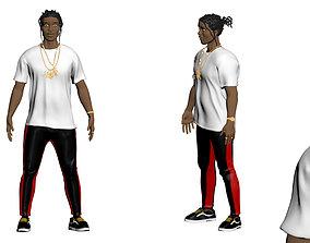 ASAP Rocky Model in Color