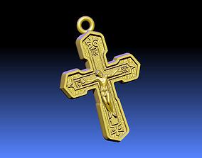 jesus Cross ortodox 3D print model