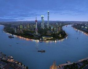 architectural 3D model shanghai