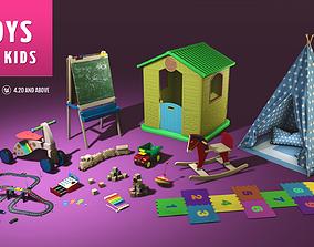 Toys for Kids Unreal Engine 4 3D model