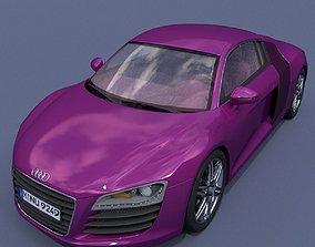 3D modern Audi R8