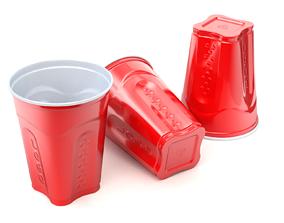 Plastic Cup Model - 1 3D