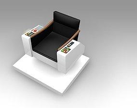 3D model Captains Chair