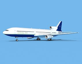 Lockheed L-1011 Liberty Air 3D model