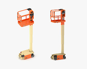JLG 1230ES Vertical Mast Lift 3D model