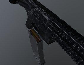 3D model M4A1 Realistic LowPoly
