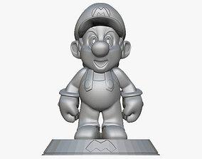 3D printable model free Mario