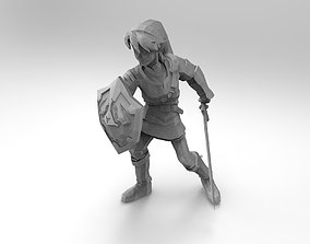 3D print model Link The Legend of Zelda