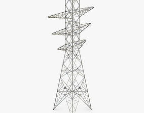 high 3D model Power Tower