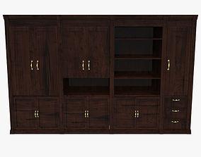 3D model Large Floor Cabinet bookshelving