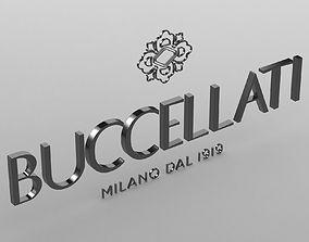 3D model buccellati logo jewelry