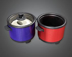KTC - Rice Cooker - PBR Game Ready 3D model
