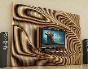 Parametric TV Show 3D model
