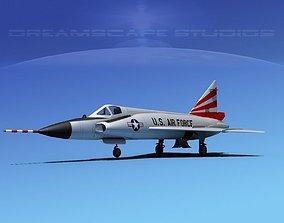 3D Convair F-102 Delta Dagger NM ANG