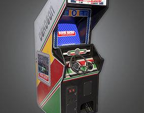 3D asset Arcade Cabinet 04 Arcades - PBR Game Ready