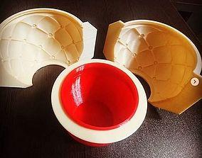 3D leather pot mold
