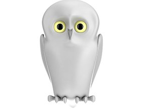Owl Toy isolated 3D model