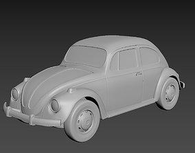 Volkswagen Beetle 1967 3D print model