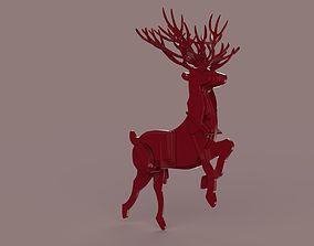 symbol reindeer 3D