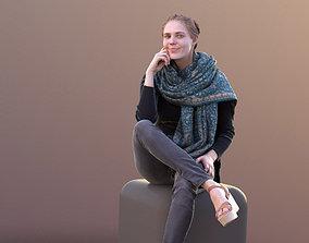 Marie 10401 - Sitting Casual Girl 3D model fashion