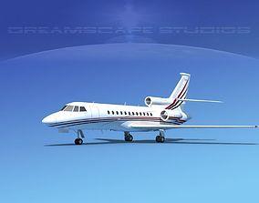 3D model Dassault Falcon 900 V11