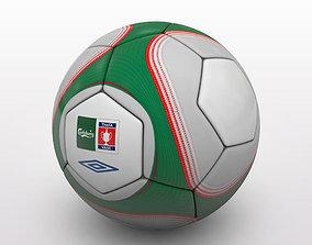 FA Cup Ball 2009 - Green - Vase 3D