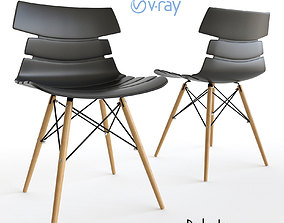 Eames Style Dakota Imodern Chair 3D