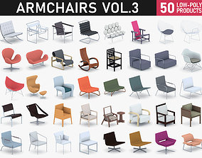 3D model Armchairs Collection Vol 3