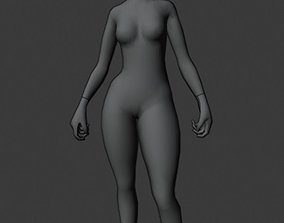3D print model Killer girl