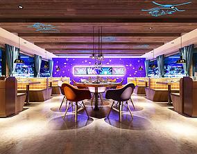 Hotel entertainment KTV bar disco Sing 07 3D model