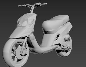 mbk booster spirit 3D print model