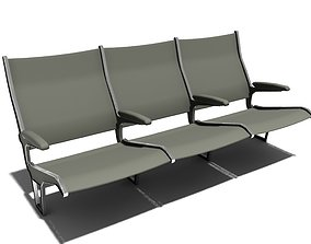 3D bench row sitting