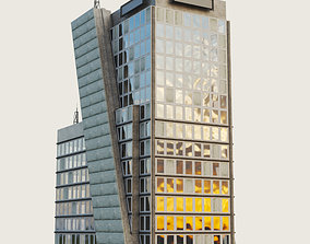 3D asset Building Skyscraper 7
