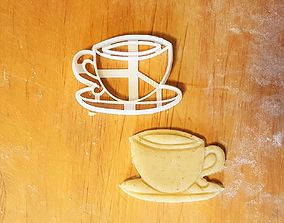 3D printable model Cup cookie cutter
