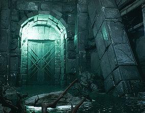 3D model Fantasy Dungeon Environment Kitbash Set