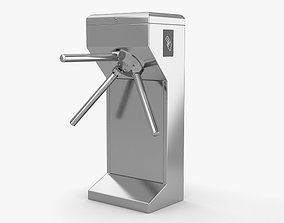 3D model gate Turnstile