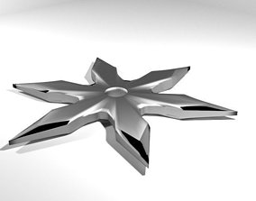 3D Throwing Star - Type 1