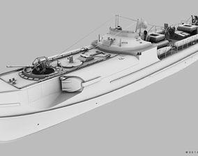 3D model SCHNELLBOOT S100