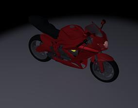 3D model Suzuki motorbike