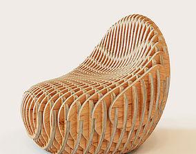 3D Parametric armchair Bounce