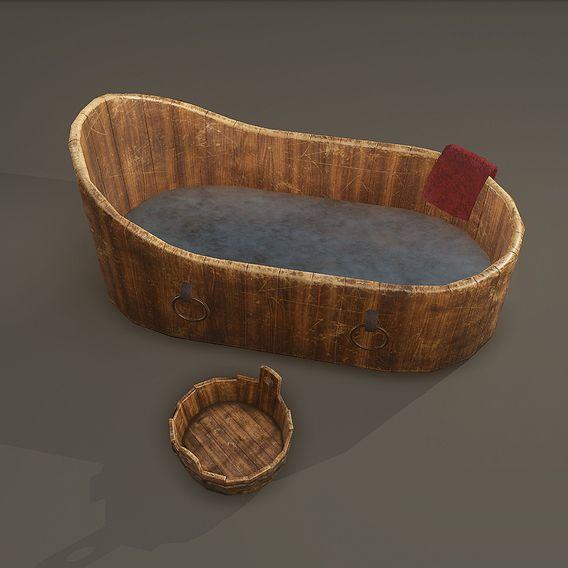 Medieval WashTubs Set