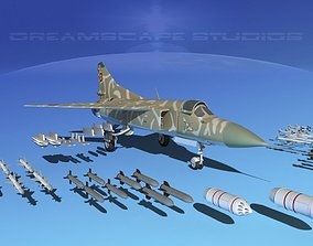 Mig-23 Fighter Romania 3D