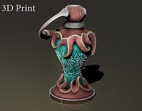Fantasy lamp 3D print model