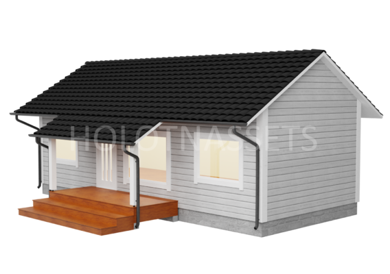 Wooden Town House