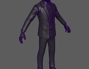 3D asset character costume