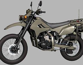 3D model JGSDF Reconnaissance motorcycle