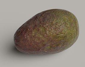 Avocado photorealistic photoscan 3D asset